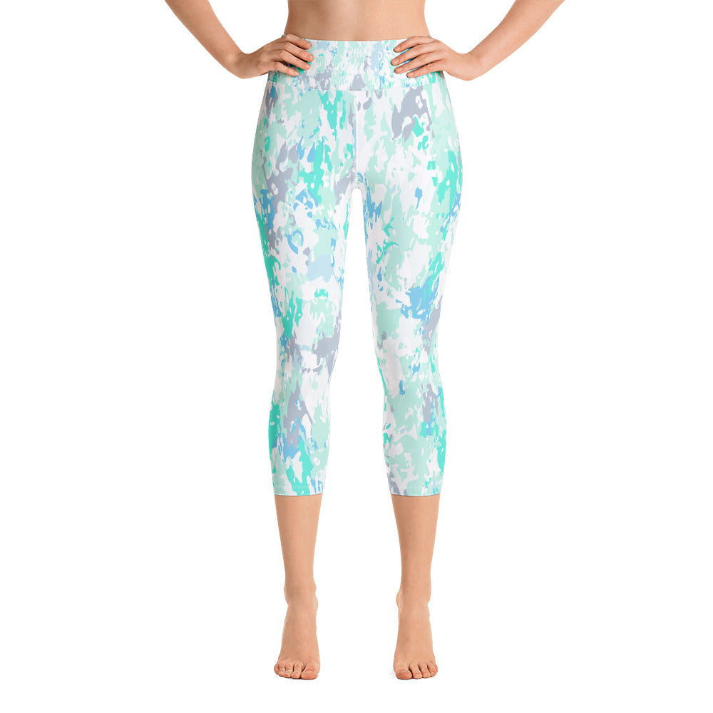 Aqua Yoga Capri Leggings