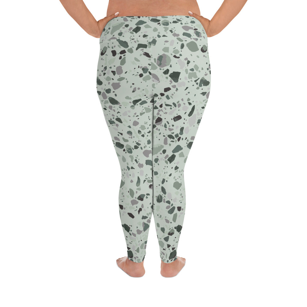 Sage Granite Curves Leggings