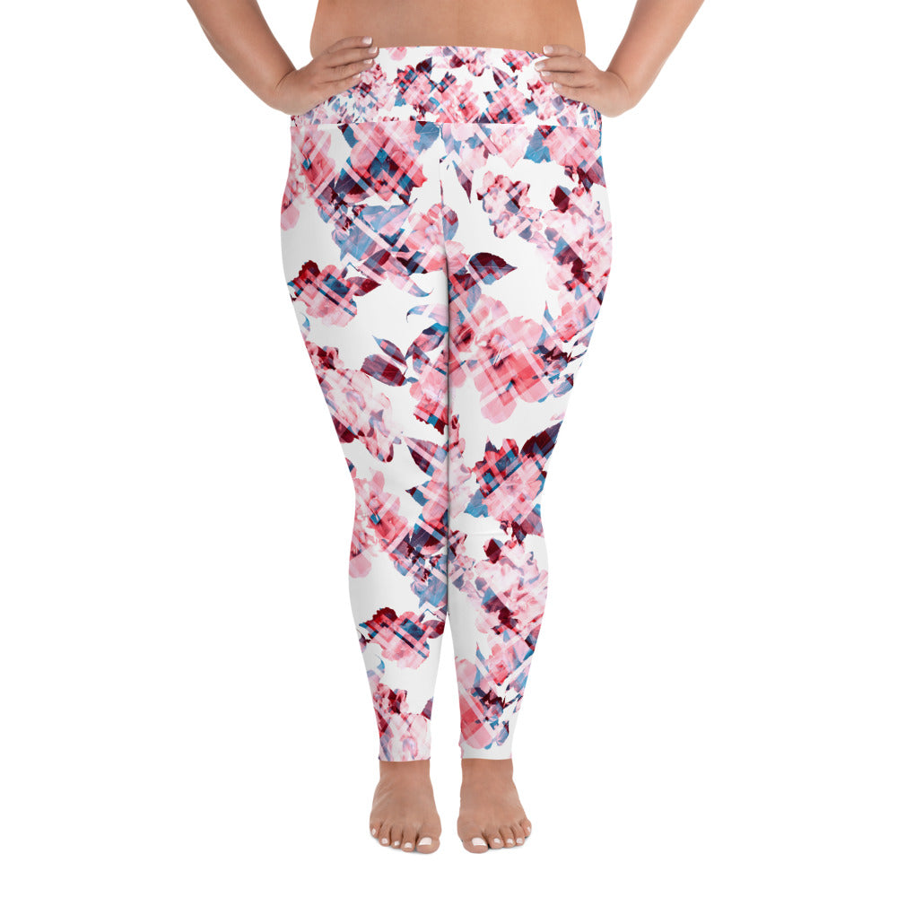 Floral Haze Curves Yoga Leggings