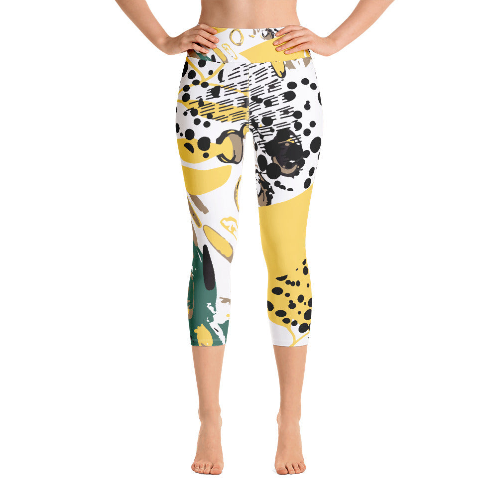 Jungle Fever Yoga Capri