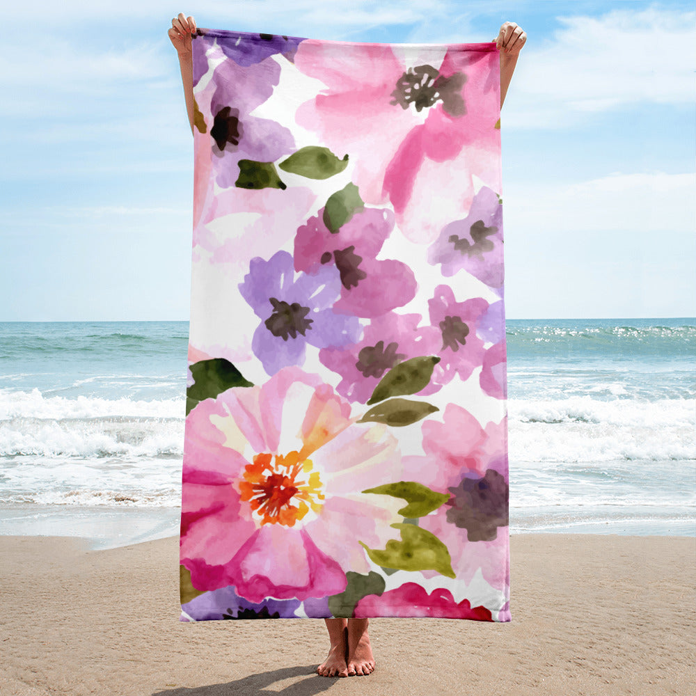 Summer Meadow Towel