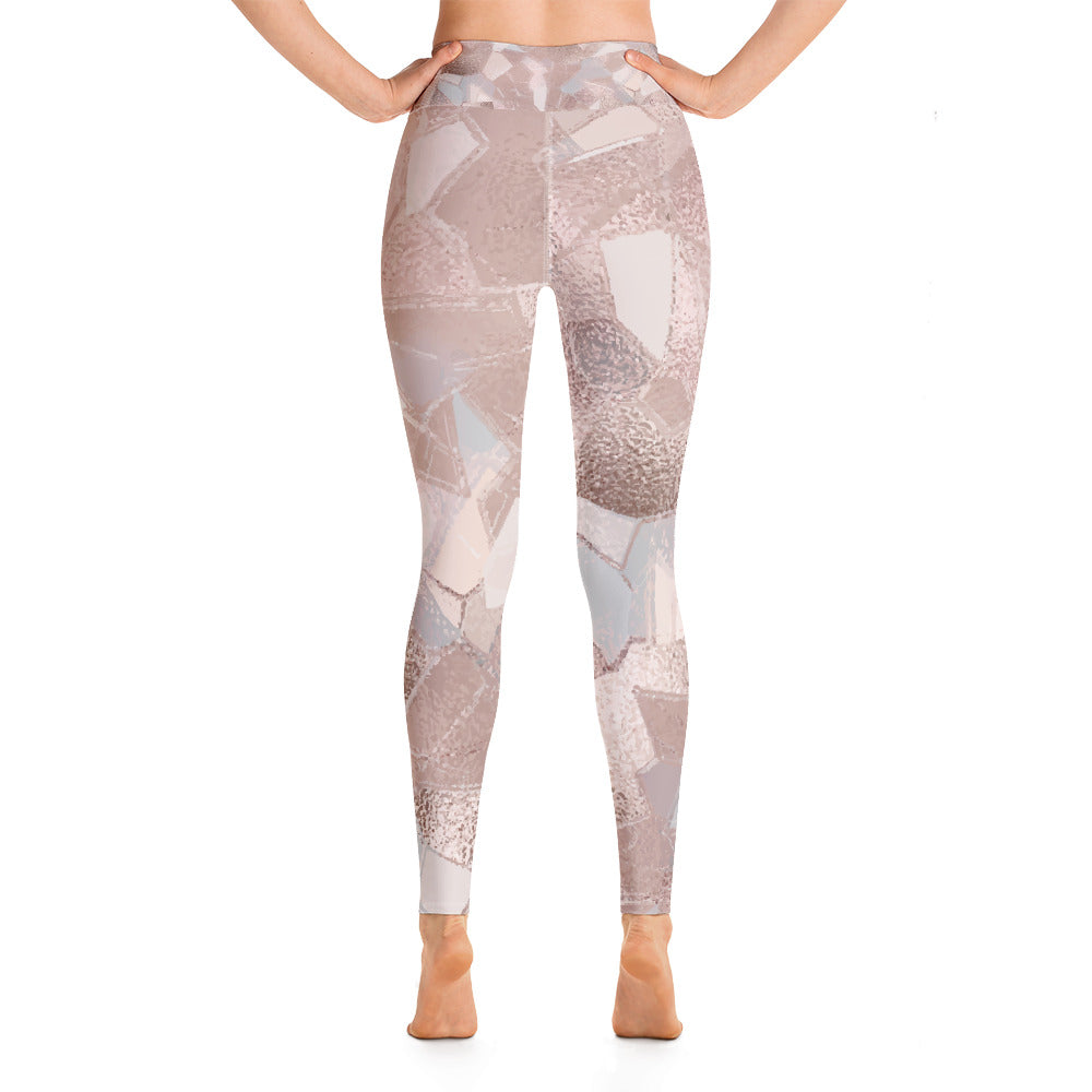 Stained Glass Yoga Leggings