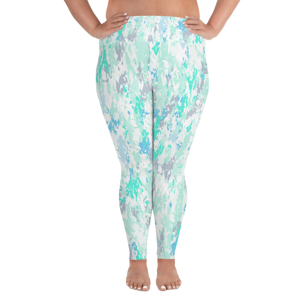 Aqua Curves Leggings