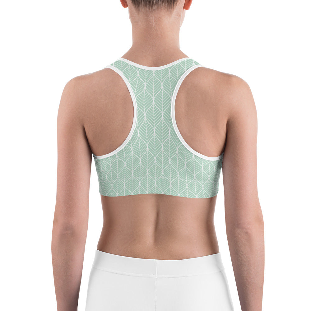 Mint Leaf Sports Bra