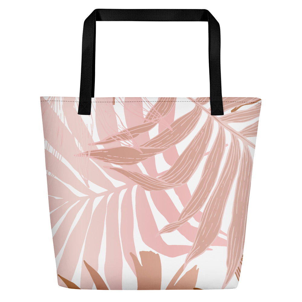 Dusky Palm Beach Bag