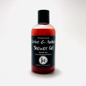 Cedar & Amber Shower Gel