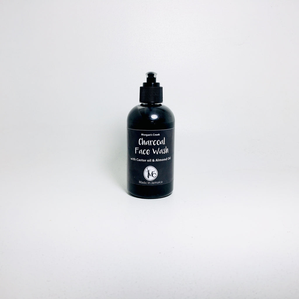 Charcoal Face Wash w/ Castor Oil & Almond Oil