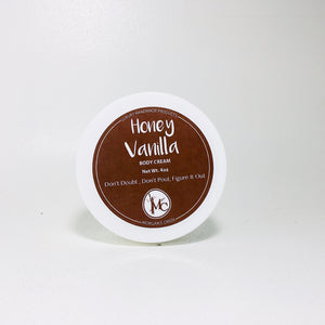 Honey Vanilla Body Cream