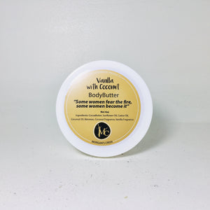 Vanilla with Coconut Body Butter