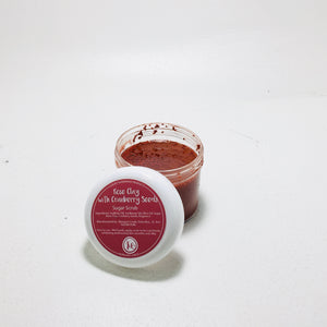 Rose Clay w/ Cranberry Seeds