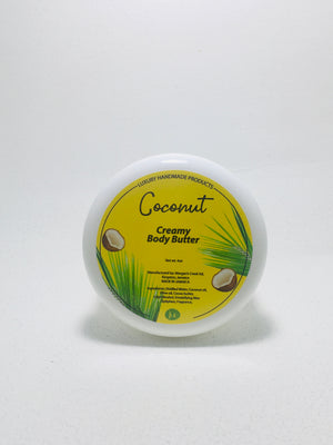 Coconut creamy body butter
