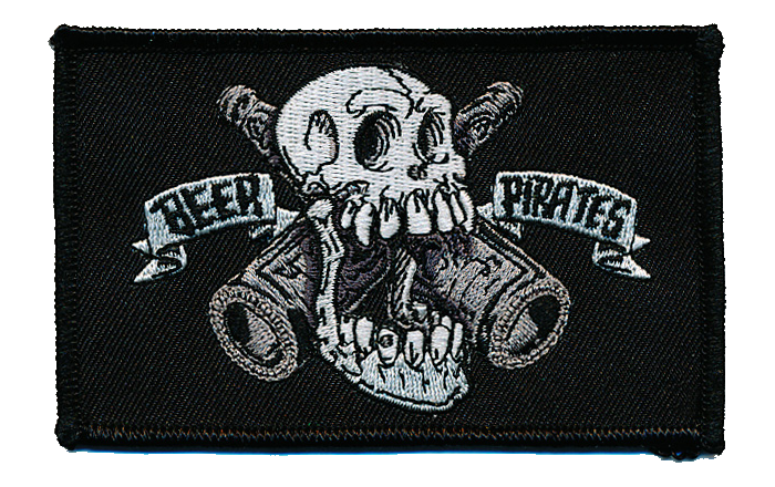 Beer Pirates Patch AKA