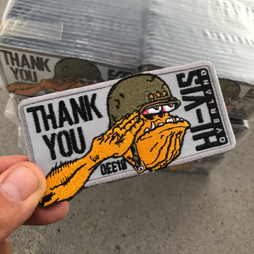 HVO Thank You Expo East18 Patch