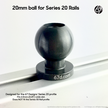 Series 20 Track Ball