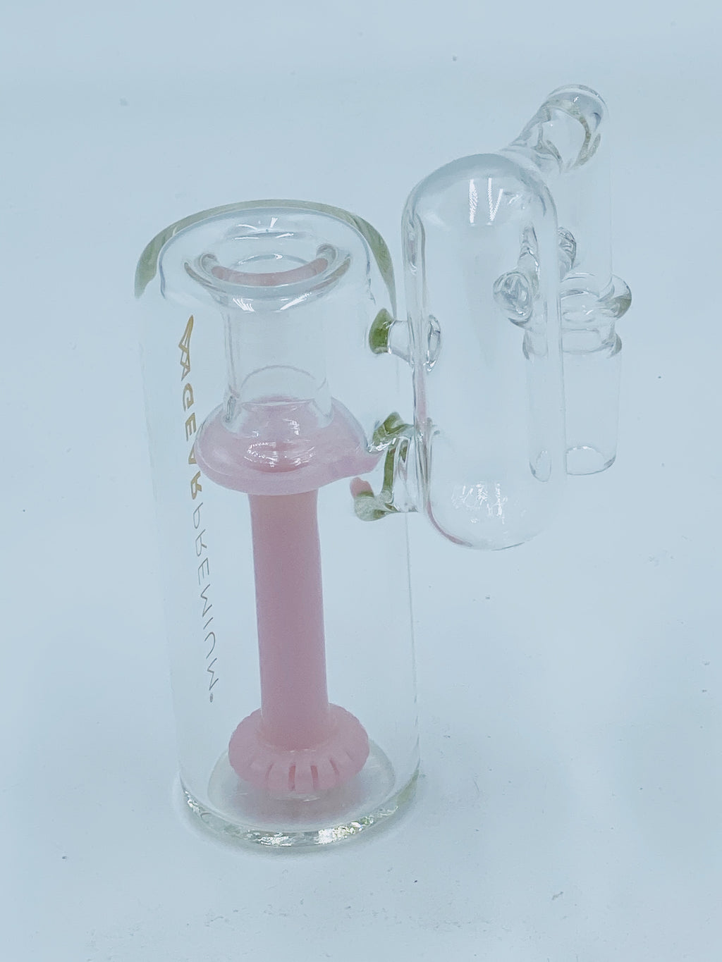 GEAR PREMIUM 14MM 90 DEGREE RECYCLER ASH CATCHER - Smoke Country - Land of the artistic glass blown bongs