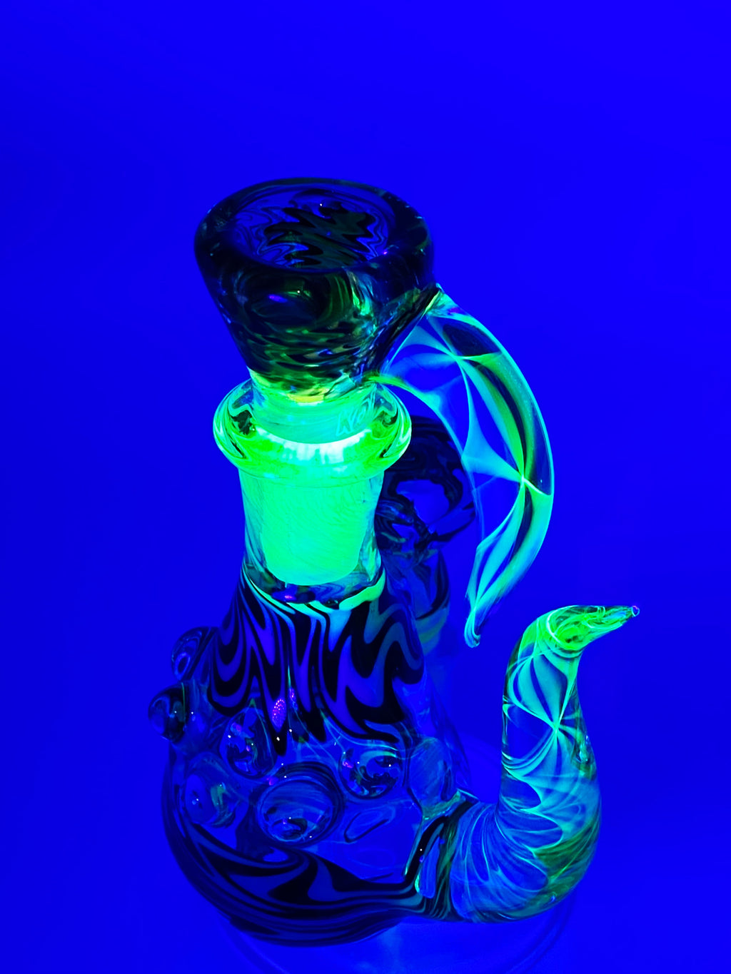 Kobb Glass 18mm Custom Uv Dry Ashcatcher