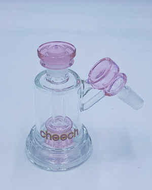 Cheech Glass Pink Ash Catcher