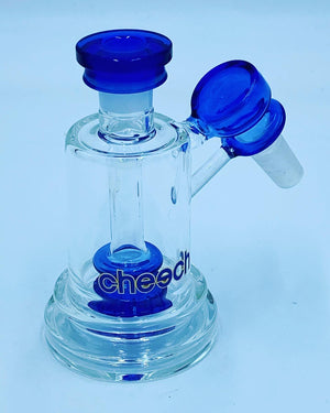Cheech Glass Blue Ash Catcher