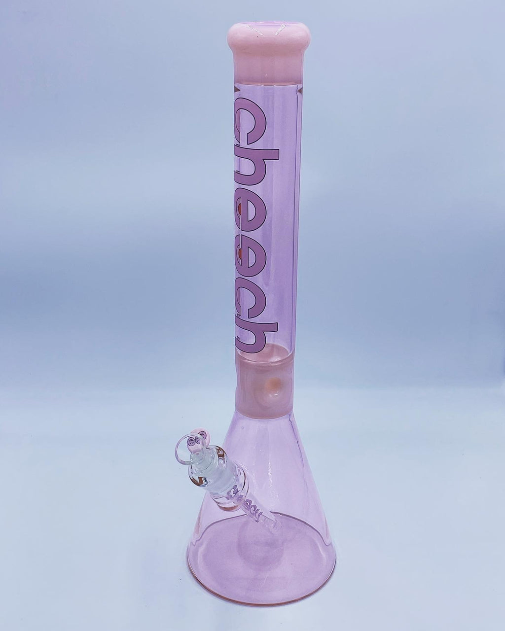 Cheech Glass 18 Inch Pink Beaker