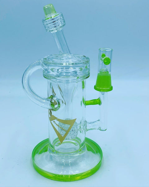 Evolution Glass Slime Barrel Recycler