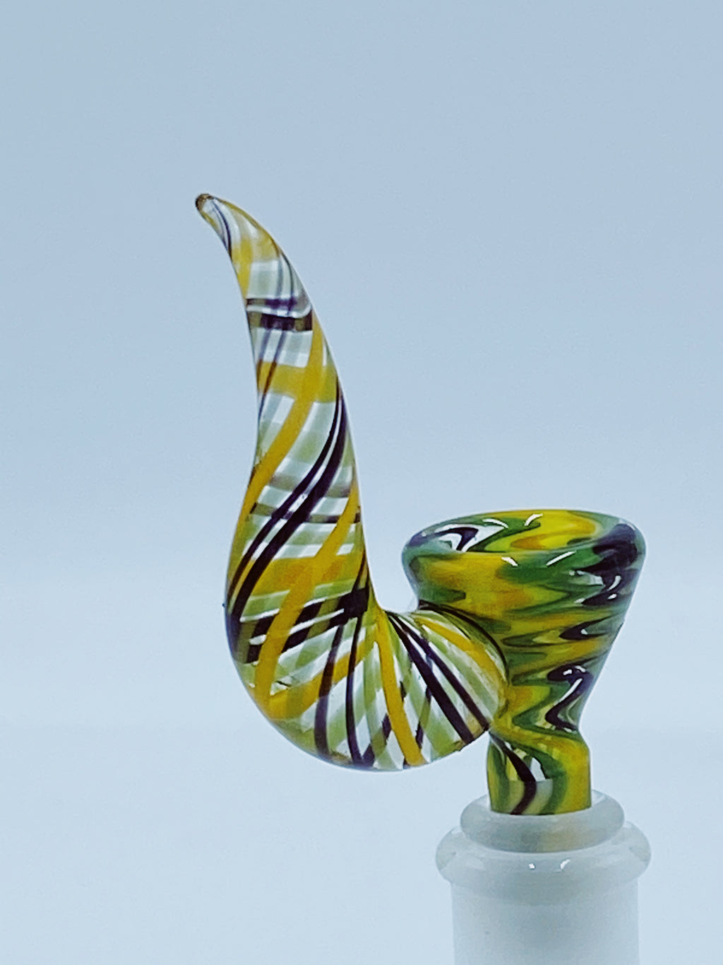 Kobb Glass Full Rasta UV Bowl bowl Kobb Glass- Smoke Country - Land of the artistic glass blown bongs