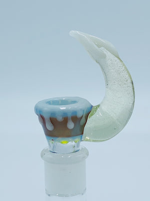 Kobb Glass Multicolor Dripping UV bowl Kobb Glass- Smoke Country - Land of the artistic glass blown bongs