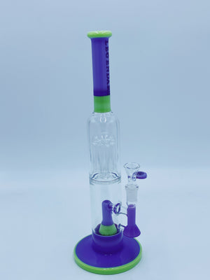 Legaendary Purple Perc Glass Bong Legendary Glass- Smoke Country - Land of the artistic glass blown bongs