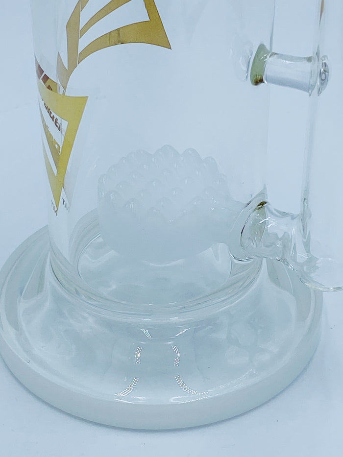 Evolution Glass Bent Neck Waffle Perc