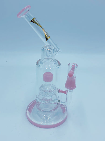 Evolution Glass Pink Sidecar Rig.