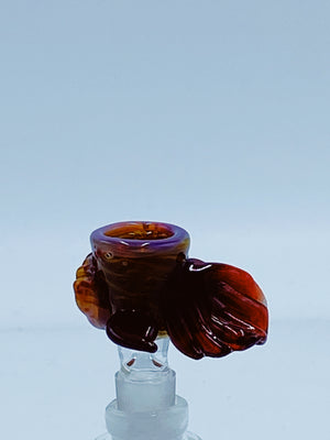 Tear E 14mm Monster Bowl Type 5 - Smoke Country - Land of the artistic glass blown bongs