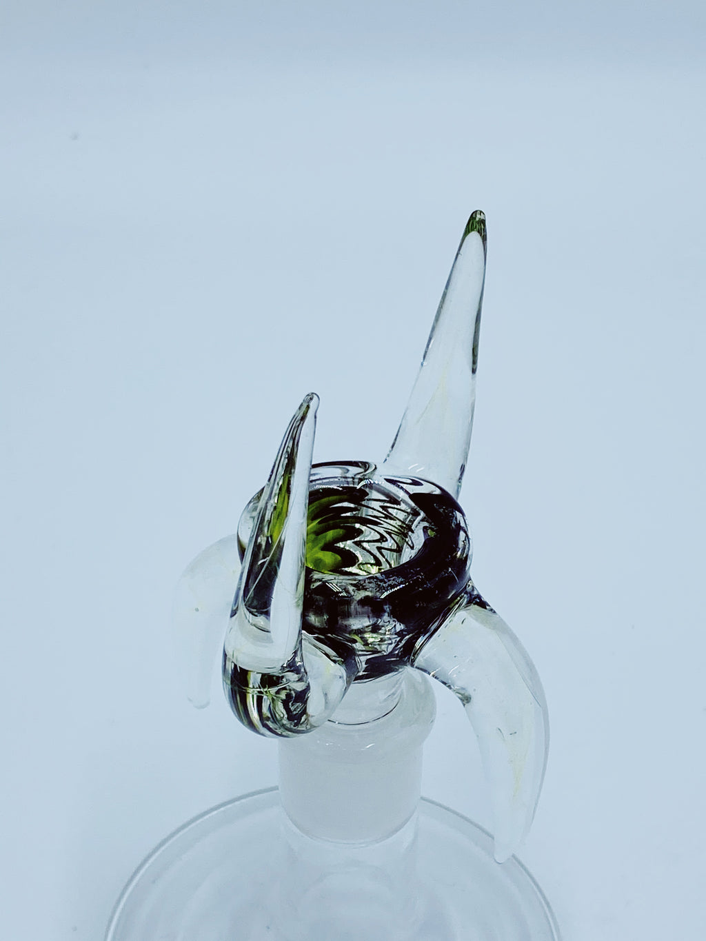 Kobb Glass 18mm Full Uv Quad Horn Bowl
