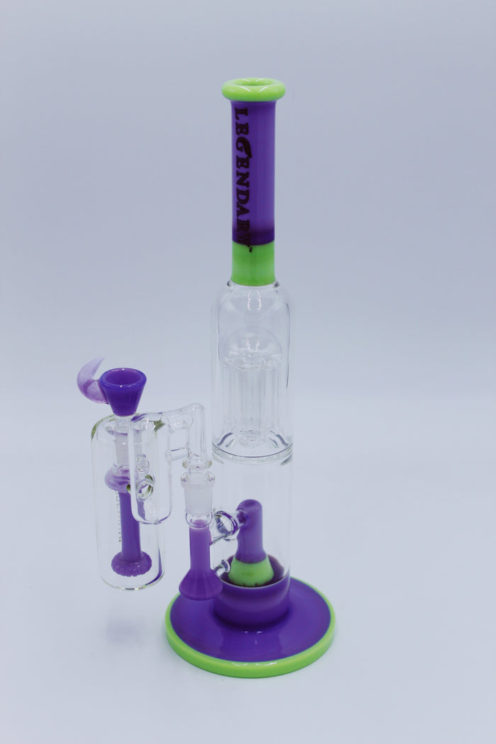 LEGENDARY GLASS PURPLE SET - Smoke Country - Land of the artistic glass blown bongs