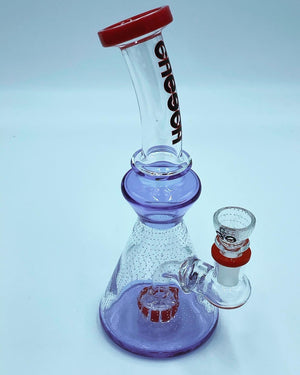 Cheech Glass Purple Raindrop Percolator