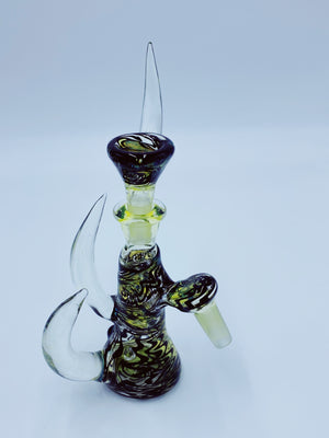 Kobb Glass 14mm Custom Uv Dry Ashcatcher