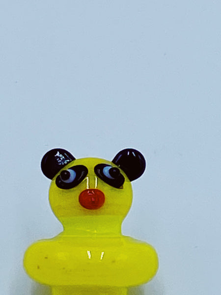 Yellow Panda Carb Cap