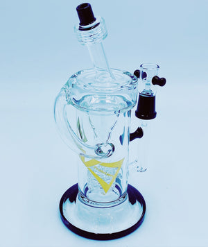 Evolution Glass Black Barrel Recycler