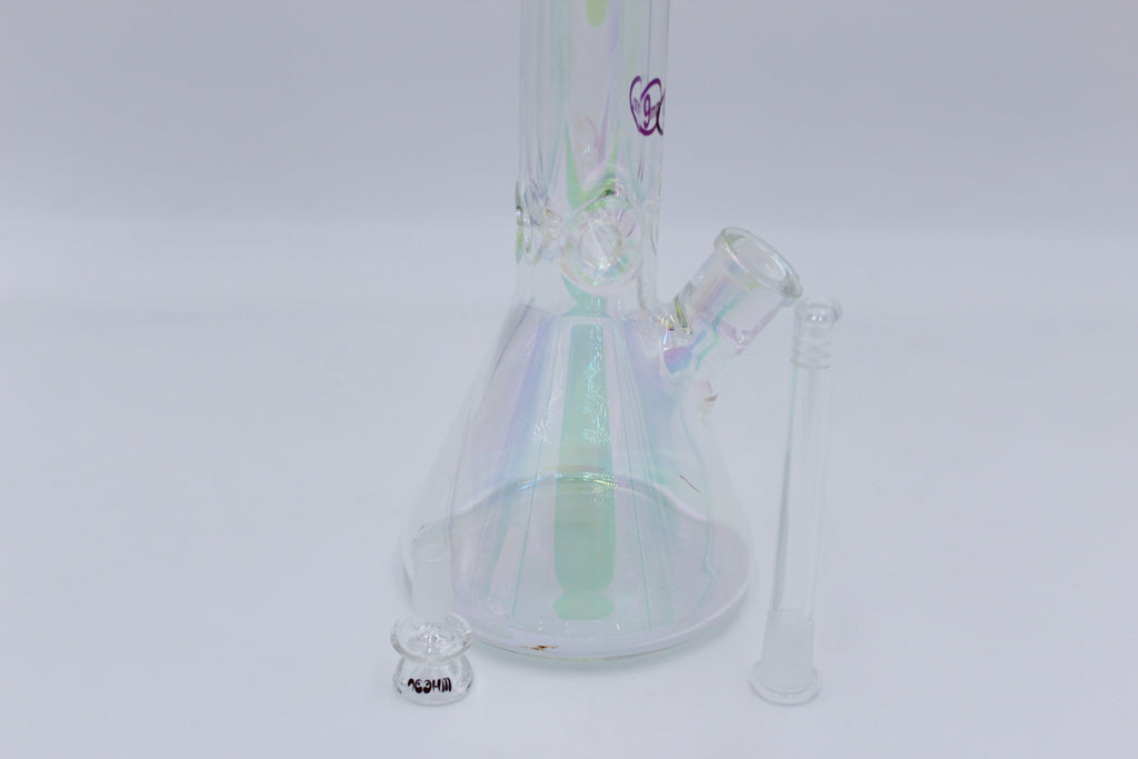 WHEEL 18 INCH 9MM BEAKER - Smoke Country - Land of the artistic glass blown bongs