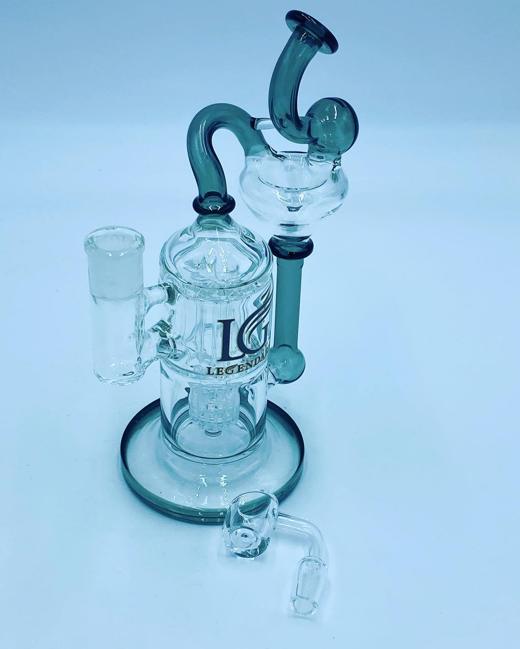Legendary Glass Recycler Rig