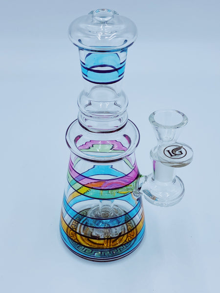 Legendary Glass Rainbow Percolator