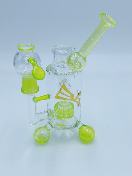 Evolution Glass Slime Puck Percolator Rig