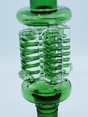 CHEECH GLASS QUAD FREEABLE COIL TOP PIECE - Smoke Country - Land of the artistic glass blown bongs