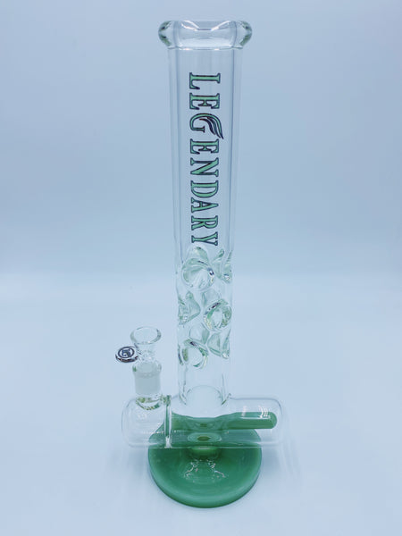 Legendary Glass Green Inline Percolator