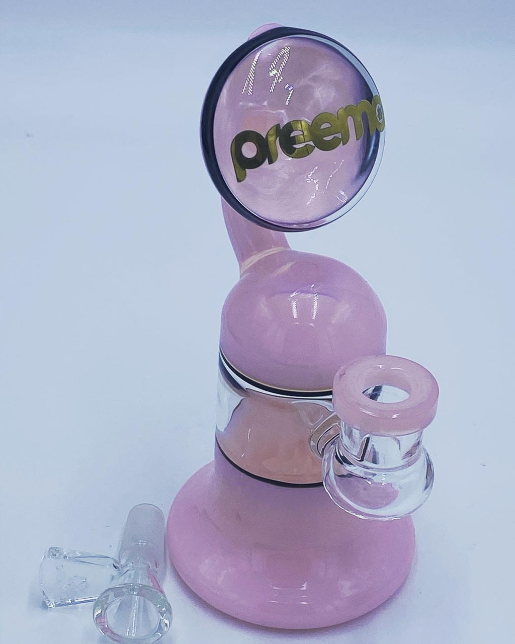 Preemo Glass Pink Upside Car