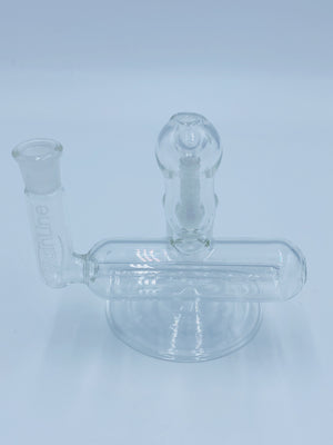 Mainline 14mm 90 Degree inline Ashcatcher accessories mainline- Smoke Country - Land of the artistic glass blown bongs