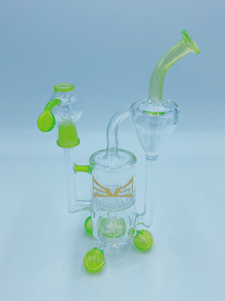 Evolution Glass Slime Honeycomb Recycler