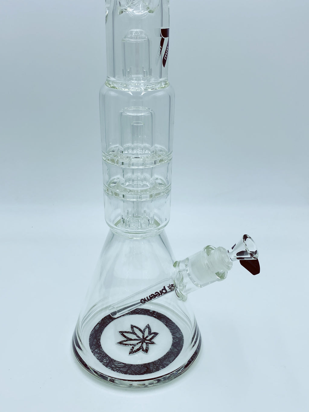 Preemo Glass Double Disc Percolator