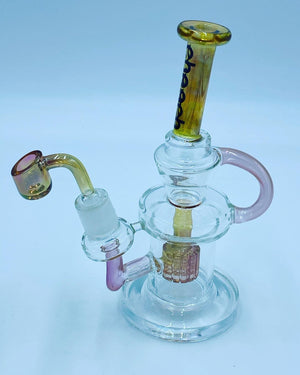 Cheech Glass Pirelli Percolator Recycler Rig
