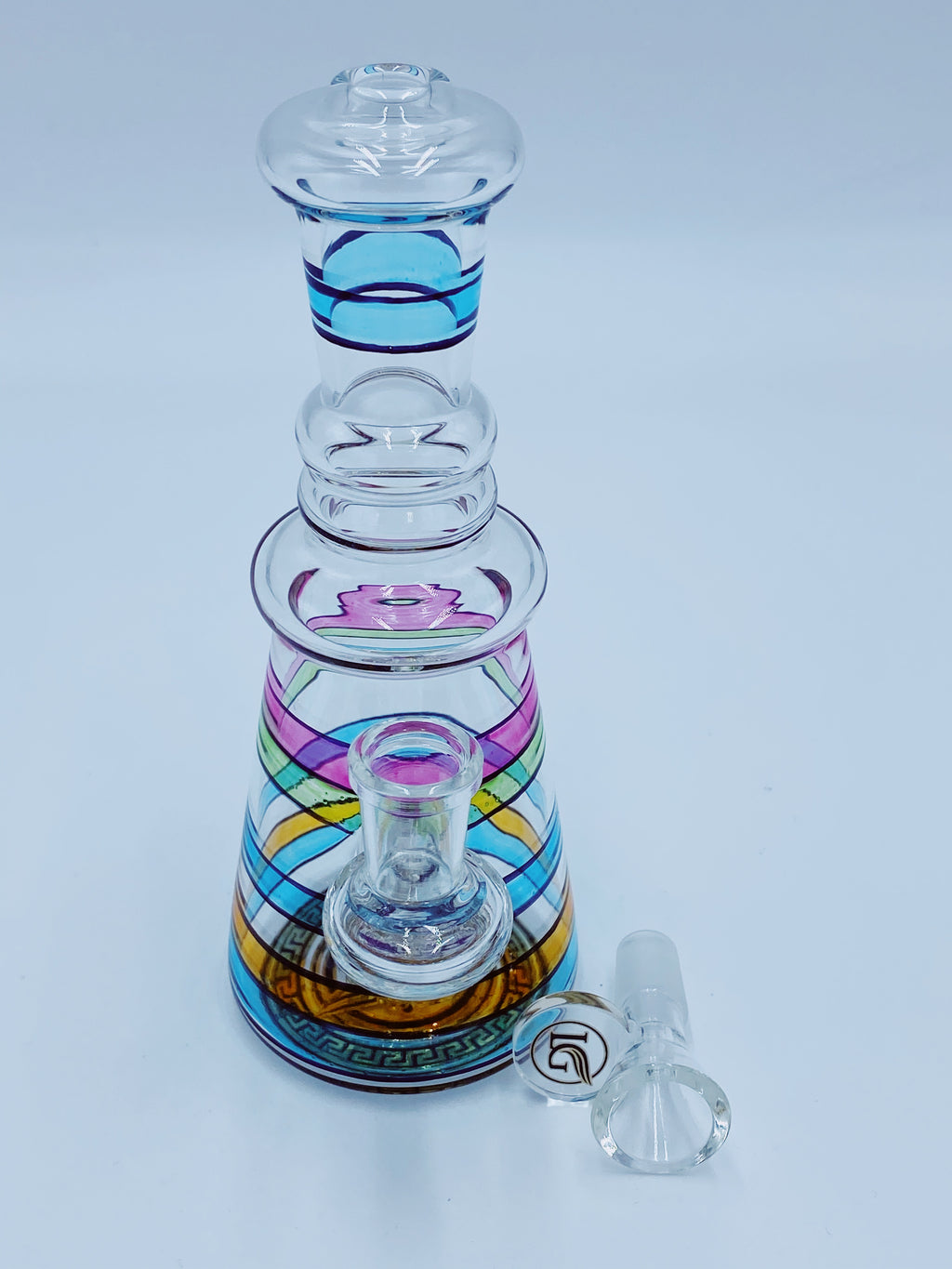 Legendary Glass Rainbow Percolator Glass Bong Legendary Glass- Smoke Country - Land of the artistic glass blown bongs
