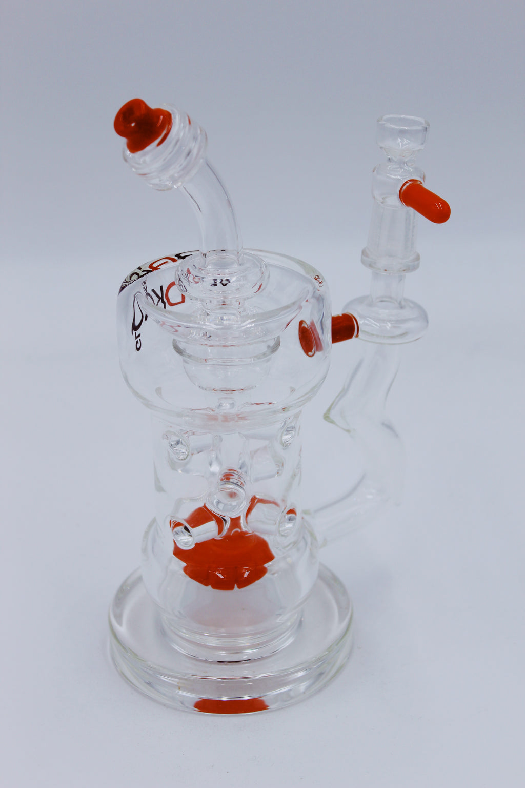 VODKA GLASS 9MM RIG - Smoke Country - Land of the artistic glass blown bongs