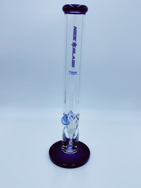 Nice Glass 7mm Straight Tube